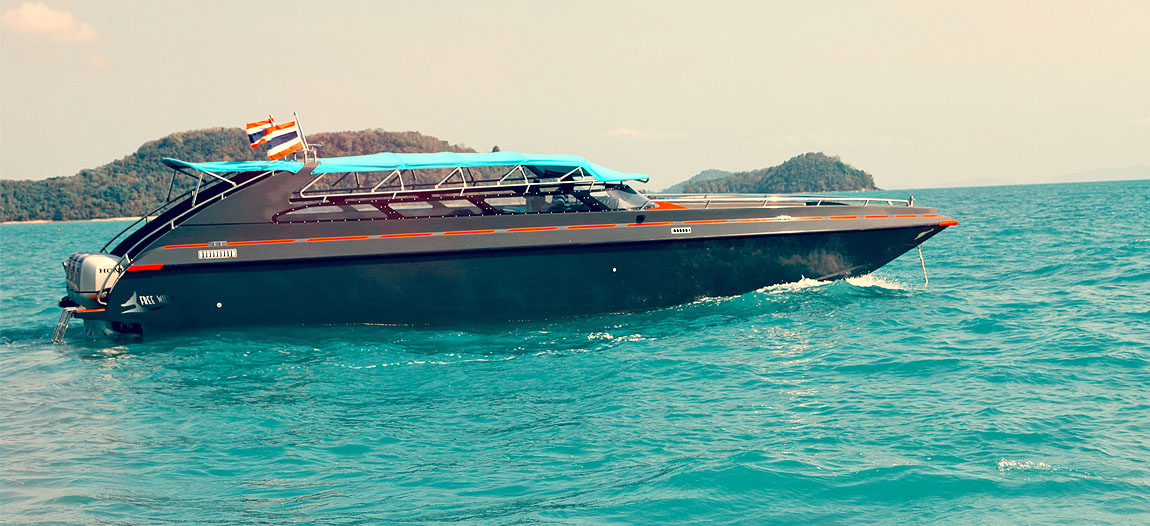 Luxury Speed Boat Charter In Phuket Thailand