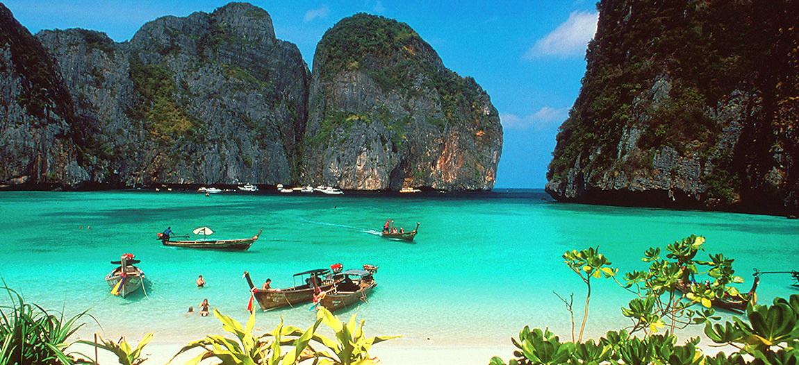 Phi Phi Island Tour Speedboat